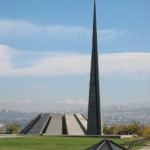 Tsitsernakaberd Memorial in Yerevan
