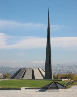 Tsitsernakaberd Memorial in Yerevan