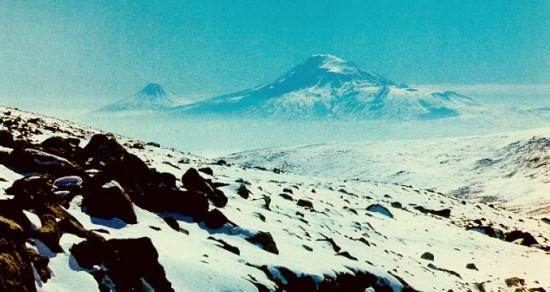Ararat Mountain In Snow