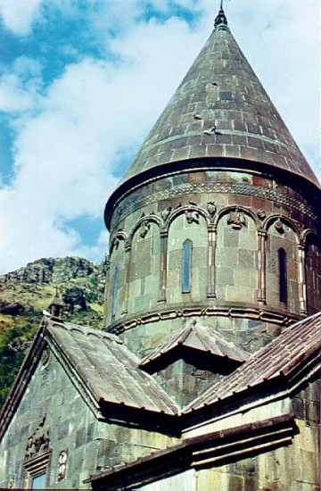 Geghard, Dome of the Main Church, 13th century