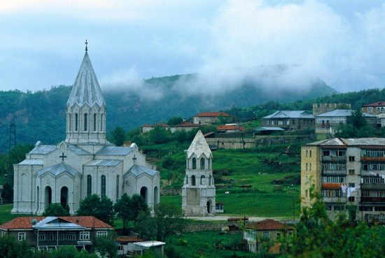 Ghazanchetsots Church, Shoushi, Nagorno Karabagh
