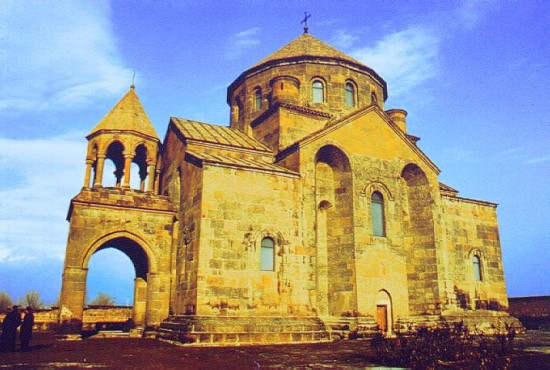 St. Hripsime Cathedral, 7th, 628, Echmiadzin