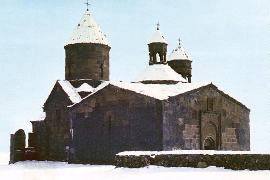 Sagmosavank, 13th century, Ashtarak