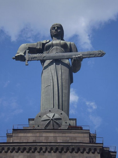 Mother Armenia Statue