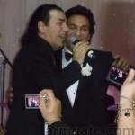 Andy & Korous, singing at Andy & Shani Wedding