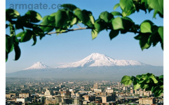 Ararat Mountaian, Yerevan, Armenia