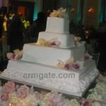 Andy & Shani Wedding Cake