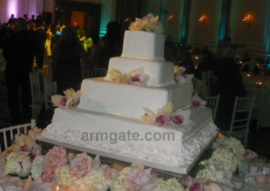 Andy & Shani Wedding Cake