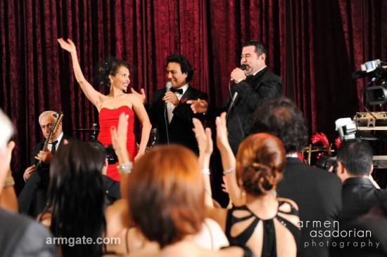 Tiko Asatryan singing at Andy & Shani 2nd wedding ceremony on 11-27-11.
