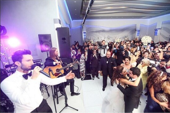 adam levine armenian wedding5